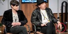 Aufregung um rauchenden Musikstar in ORF-Show