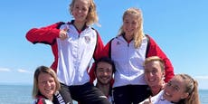 Flossenschwimm-Team: 1.200 Kilometer zum Training