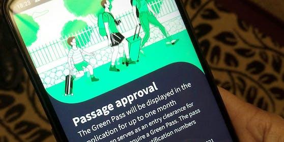 """Der """"Grüne Pass"""" soll Geimpften und Getesteten das Reisen leichter machen."""