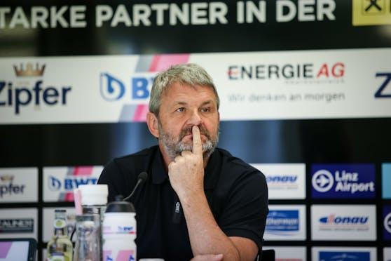 LASK-Vizepräsident Jürgen Werner