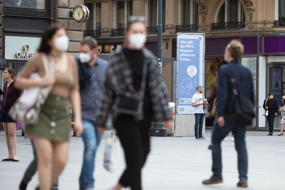 Am Samstag melden die Behörden für Wien 125 Neuinfektionen binnen der vergangenen 24 Stunden.
