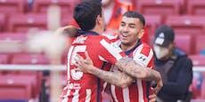 Atletico Madrid holt sich von Real Rang eins zurück