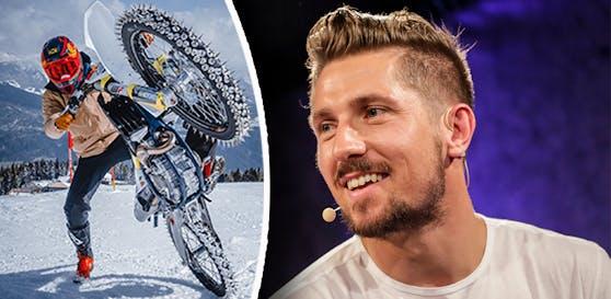 Marcel Hirscher kehrt mit der Motocross-Maschine auf den Schnee zurück.