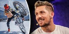 Hirscher zurück auf Schnee – allerdings mit dem Bike