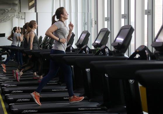 Schon bald werden Fitnesscenter wieder aufsperren dürfen. Symbolbild.