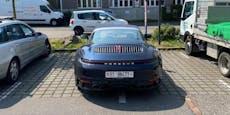 Impfstoff-Manager parkt Porsche auf 2 Parkplätzen
