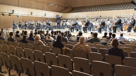 Ein Konzert in Zeiten von Corona (Symbolbild)