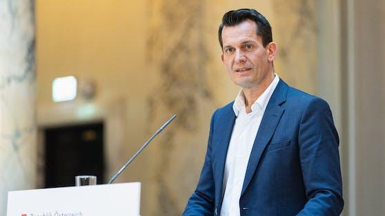 Gesundheitsminister Wolfgang Mückstein geht das Impfen zu langsam voran.