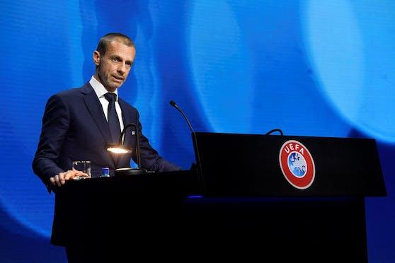 UEFA-Boss Aleksander Ceferin.
