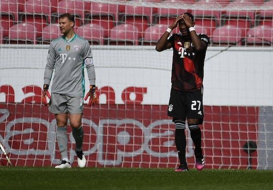 Die Bayern verlieren in Mainz.
