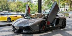 Lamborghini und Audi liefern sich illegales Autorennen