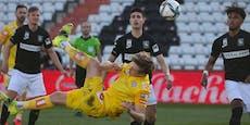 Traumtor bei 2:0-Sieg der Austria gegen die Admira