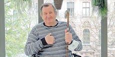 Neue Hüfte für obdachlosen Henrik aus Wien