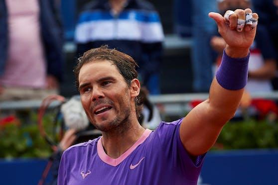 Nadal ist wieder die Nummer zwei in der Tennis-Weltrangliste.