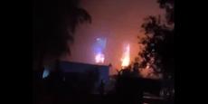 Explosion auf Corona-Station fordert Dutzende Tote