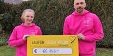 Niederösterreicher erliefen über 60.000 € gegen Krebs