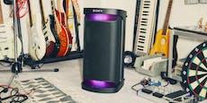 Sony präsentiert die neue X-Lautsprecher-Serie