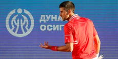 Djokovic scheitert beim Heimturnier in Belgrad