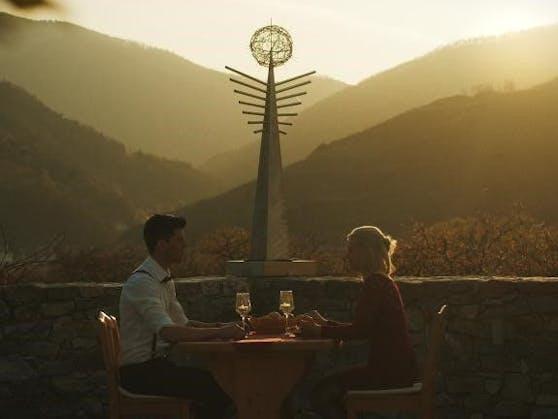 Romantisches Dinner in der Wachau.