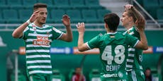 Demir und Kara führen Rapid zu 4:0-Erfolg über Tirol
