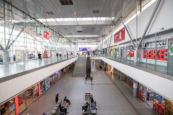 Der Hauotbahnhof in Linz.