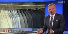 ORF-Star Wolf sagt im TV, wie er Kleiderschrank ordnet