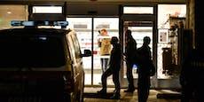 Einbrecher beim Essen in Supermarkt festgenommen