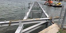Strandbad Alte Donau bekommt neuen Badesteg