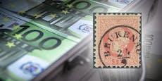 Rekordpreis! Austro-Briefmarke ist 150.000 Euro wert