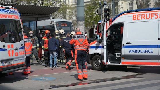 In Wien kam es am Montag zu einem Verkehrsunfall.