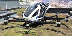 Diese Taxidrohne fliegt schon bald über Linz
