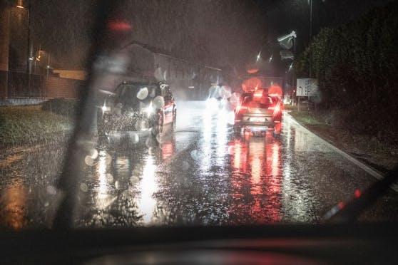 In der Nacht ist mit Regen zu rechnen.