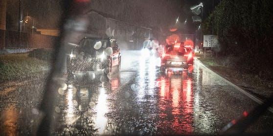 In der Nacht ist stellenweise mit Regen zu rechnen.