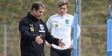 Bundesliga-Trainer gefeuert, Chance für Gregoritsch