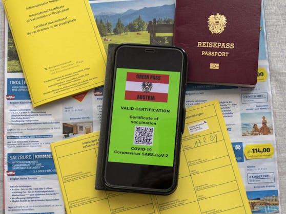 """Die Wirkmechanismen des """"Grünen Passes"""" sollen in Österreich schon vor der offiziellen Einführung zum Tragen kommen."""