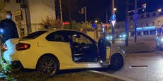 BMW-Fahrer zerlegt Auto bei Driftversuch in Liesing