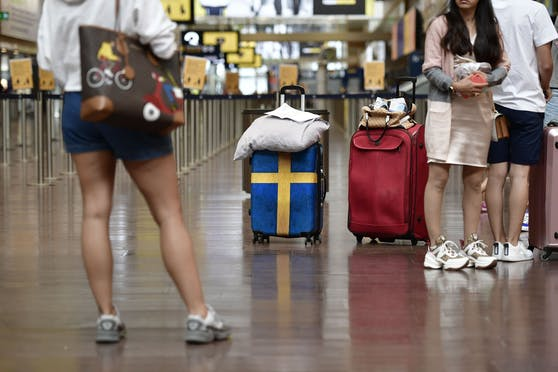 Eine verlassene Tasche legte den Stockholmer Airport für Stunden lahm. (Symbolbild)
