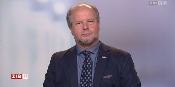"""Der Virologe Norbert Nowotny in der """"ZIB2"""""""