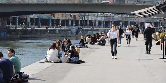 Am Wochenende wird es in Wien richtig warm.
