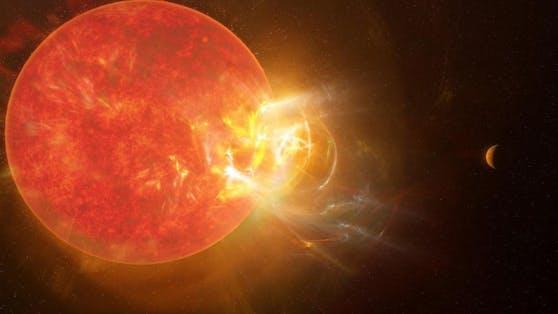 Eine Studie von Forschenden der University of Colorado in Boulder zeigt nun: Der ungeschützte Aufenthalt auf den beiden Planeten neben Proxima Centauri dürfte für den Menschen tödlich sein.