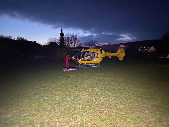 Eine Schwerverletzte nach Brand in Baden