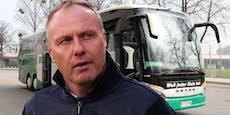 Verdient der Rapid-Busfahrer mehr als ein Tirol-Kicker?