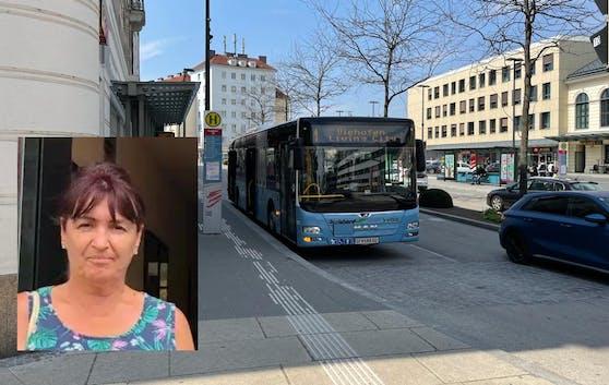 Manuela T. (58) ärgert sich über Busfahrer