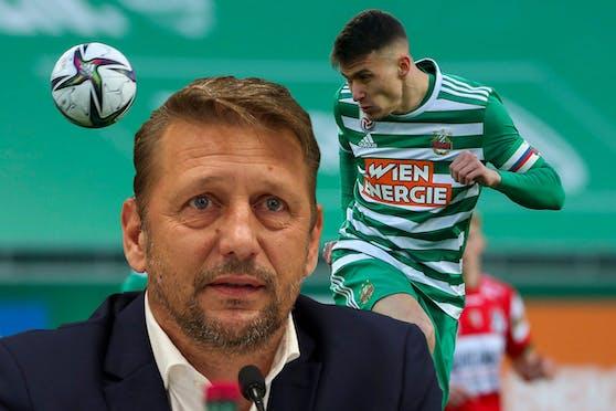 Zoran Barisic verliert Kapitän Dejan Ljubicic.