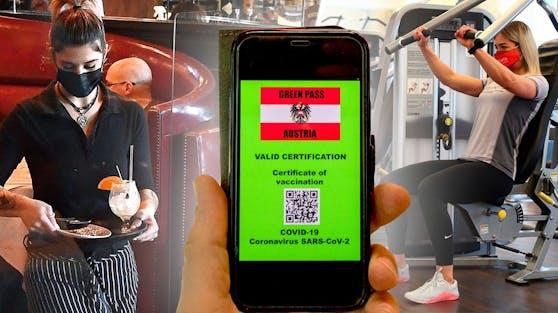 Der Grüne Pass soll Getesteten, Geimpften und Genesenen Freiheiten wie Besuche in Restaurants oder Fitnessstudios ermöglichen.