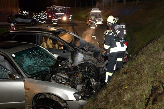 Tödlicher Unfall in Oepping am 26. April 2021: Bilder der Unfallstelle