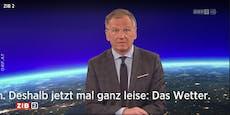 """""""Jetzt mal ganz leise"""": ZiB-Star Wolf wird Ton abgedreht"""