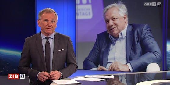 Armin Wolf berichtet in der ZiB 2 über die Gerichtsverhandlung von Wolfgang Fellner.
