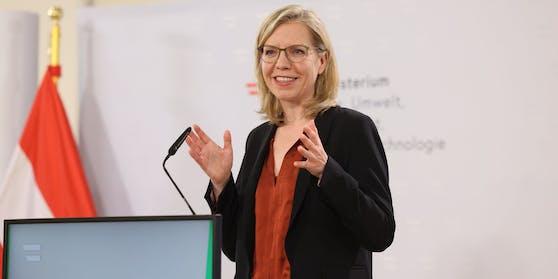 Klimaministerin Leonore Gewessler