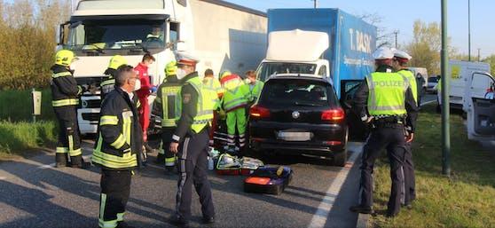 Crash in Tulln (NÖ)
